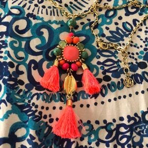 Adorable Lilly Pulitzer Boho Necklace